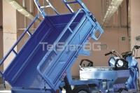 MAXI CARGO TRANSPORTER T-600 с товароносимост 600кг. и батерия 60V, 50AH CE сертификат