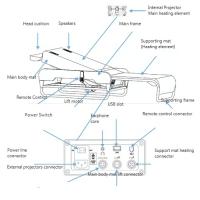Mасажно легло TS-79 с всички екстри