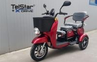Триместна електрическа триколка TS 350-7 MAXI 1500W 60V 20AH