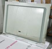 Огледало за баня 80X60 с LED подсветка, нагревател и сензорен бутон BILD HNT NW25 MIRROR