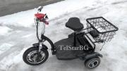 Електрическа триколка TS-200.2 500W С Големи задни гуми,  Големи предни гуми , Лети Джанти