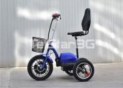 Сгъваема електрическа триколка TS 200.4 COUNTRY 48V 500W с големи JUMBO задни гуми