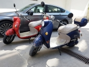 Eлектрически скутер TS EM-006 2000W с документи за регистрация за 2018