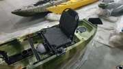 Професионален двуместен SIT-ON-TOP риболовен каяк с двойна педална система  РОМАНС