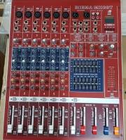 Професионален смесителен пулт BIEMA MX08T с MP3/USB/REC/BLUETOOTH/RECORD