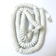 Шнур за слушалка KD36-4P4C бял