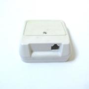 Розетка за телефон KD5-6P4C 1-ца