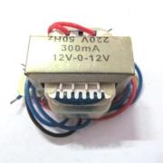 Трансформатор 12VX2 /300mA