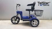 OFFROAD Електрическа триколка TS-750++ NEW 48V 750W с големи 14`` задни гуми