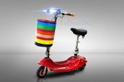Сгъваем електрически скутер  250W