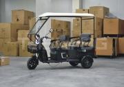 Триместна 2+1 карго електрическа триколка  с покрив TS-302 MAXI 2000W 60V 36AH НОВ МОДЕЛ