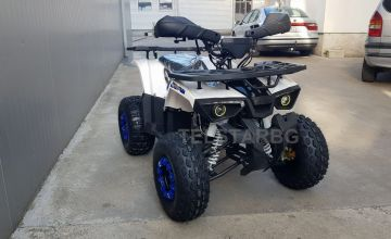 ATV RANGER HUNTER 125CC с 8`` гуми, автоматична скоростна кутия и километраж