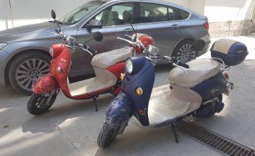 Eлектрически скутер TS-M6 2000W с документи за регистрация за 2018 Цена: 1596лв.