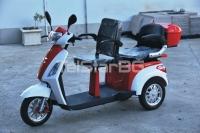 Двуместна електрическа триколка TS-400 2000W 60V 20AH НОВ МОДЕЛ