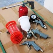 Compressor air parts nozzle set  Комплект накрайници за въздушен компресор