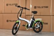 Сгъваем градски електрически велосипед TELSTAR E- BIKE TS-010+ FASHION 350W 36V 12AH НОВ МОДЕЛ 2021