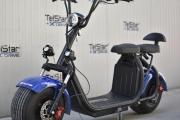 Електрически скутер BIG CITY HARLEY X7 ULTRA 1500W 60V 13Ah с LED фарове