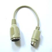 Кабел XYA001 PS/2 DIN6M/DIN5F