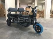 Триместна 2+1 карго електрическа триколка  с подарък  покрив TS-302 MAXI 2000W 60V 36AH НОВ МОДЕЛ