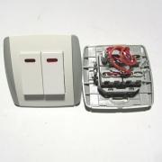 Двоен ключ с индикация TL0512
