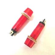 Лампа IL106N червена