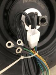 Задна джанта с гума и двигател за електрически скутер  HARLEY 600-3, 600-4 1500W 60V