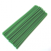 Силиконови пръчки зелени Ф7.6X30CM